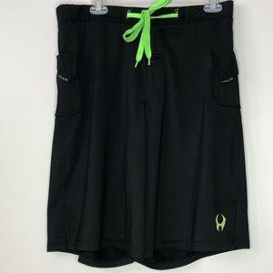 Mens Hylete Crossfit Shorts Black size large